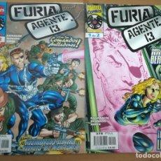 Cómics: FURIA/AGENTE 13. COMPLETA EN 2 NÚMEROS. FORUM. Lote 236063270