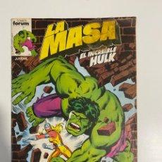 Cómics: LA MASA. EL INCREÍBLE HULK. Nº 4. COMICS FORUM.. Lote 236143740