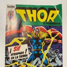 Cómics: THOR EL PODEROSO. Nº 19 - SIF ATRAPADA EN LA TIERRA. COMICS FORUM.. Lote 236219205