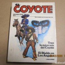 Cómics: EL COYOTE Nº 11 J. MALLORQUÍ FORUM 1987. Lote 236247605