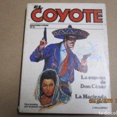 Cómics: EL COYOTE Nº 12 J. MALLORQUÍ FORUM 1987. Lote 236247850