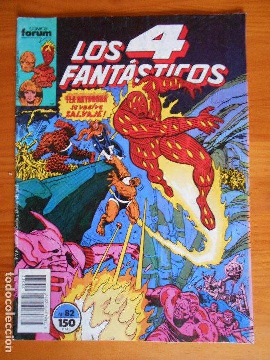 LOS 4 FANTASTICOS Nº 82 - MARVEL - FORUM (A) (Tebeos y Comics - Forum - 4 Fantásticos)