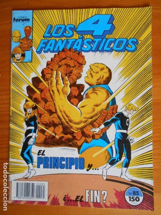 LOS 4 FANTASTICOS Nº 85 - MARVEL - FORUM (A) (Tebeos y Comics - Forum - 4 Fantásticos)