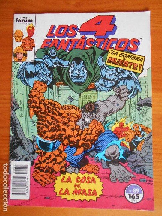 LOS 4 FANTASTICOS Nº 89 - MARVEL - FORUM (A) (Tebeos y Comics - Forum - 4 Fantásticos)