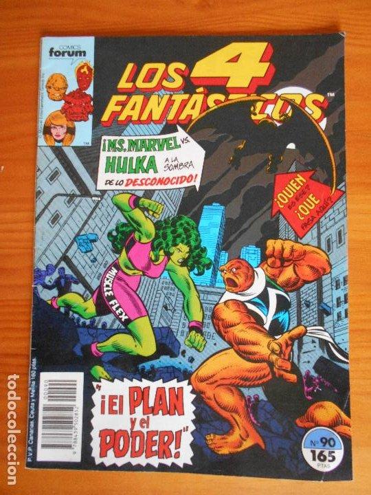 LOS 4 FANTASTICOS Nº 90 - MARVEL - FORUM (A) (Tebeos y Comics - Forum - 4 Fantásticos)