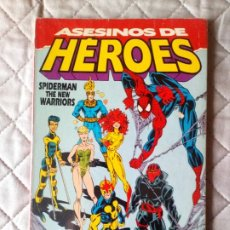 Cómics: ASESINOS DE HEROES, SPIDERMAN THE NEW WARRIORS EXTRA INVIERNO, FORUM. Lote 236387045