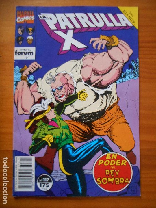 LA PATRULLA X Nº 117 - MARVEL - FORUM - LEER DESCRIPCION (7W) (Tebeos y Comics - Forum - Patrulla X)