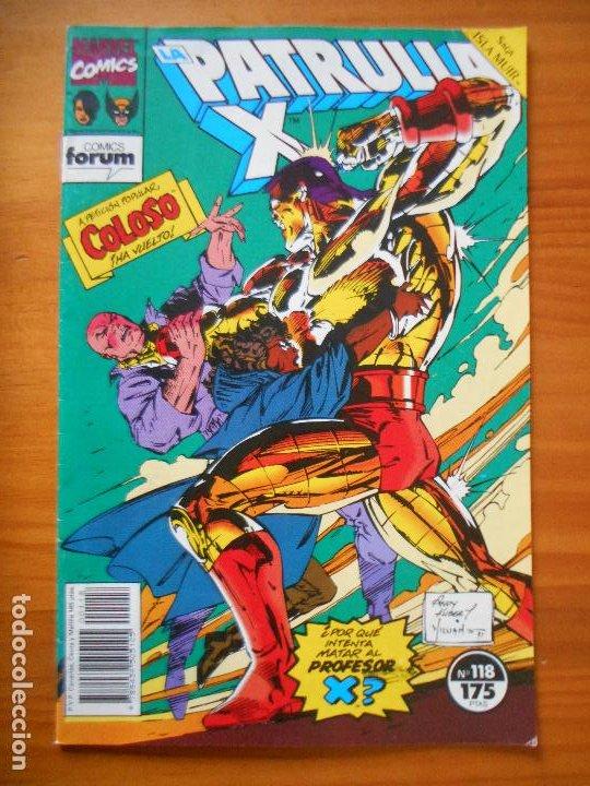 LA PATRULLA X Nº 118 - MARVEL - FORUM - LEER DESCRIPCION (7W) (Tebeos y Comics - Forum - Patrulla X)