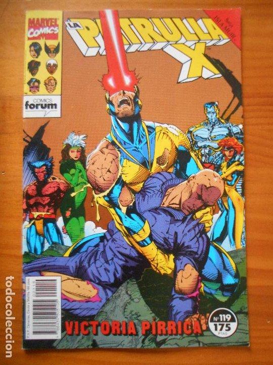 LA PATRULLA X Nº 119 - MARVEL - FORUM - LEER DESCRIPCION (7W) (Tebeos y Comics - Forum - Patrulla X)