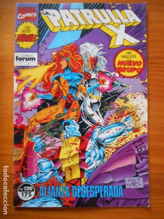 LA PATRULLA X Nº 120 - MARVEL - FORUM - LEER DESCRIPCION (7W) (Tebeos y Comics - Forum - Patrulla X)