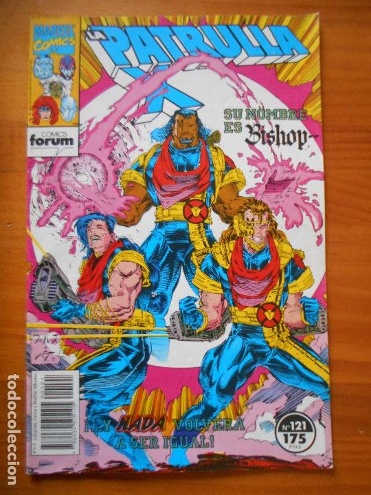 LA PATRULLA X Nº 121 - MARVEL - FORUM - LEER DESCRIPCION (7W) (Tebeos y Comics - Forum - Patrulla X)
