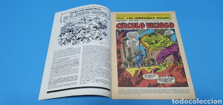 Cómics: COMIC - LA MASA EL INCREIBLE HULK N° 1 - EDICIONES FORUM - Foto 2 - 236547135