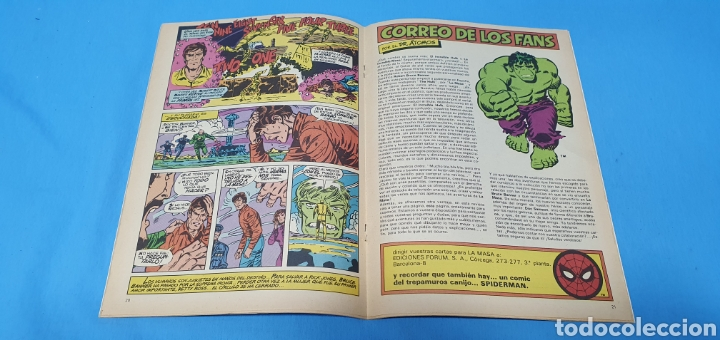 Cómics: COMIC - LA MASA EL INCREIBLE HULK N° 1 - EDICIONES FORUM - Foto 3 - 236547135
