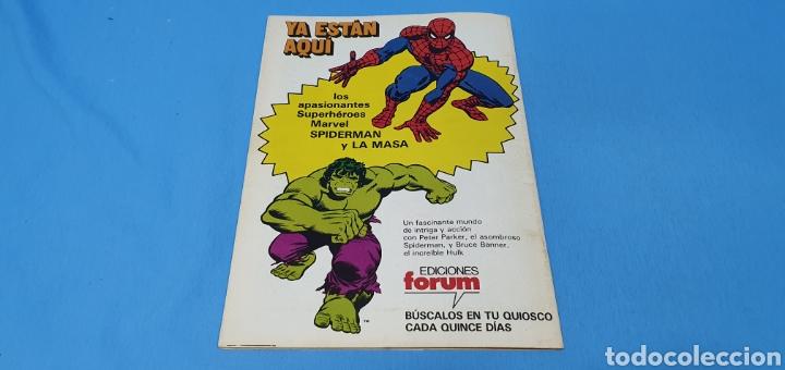 Cómics: COMIC - LA MASA EL INCREIBLE HULK N° 1 - EDICIONES FORUM - Foto 4 - 236547135