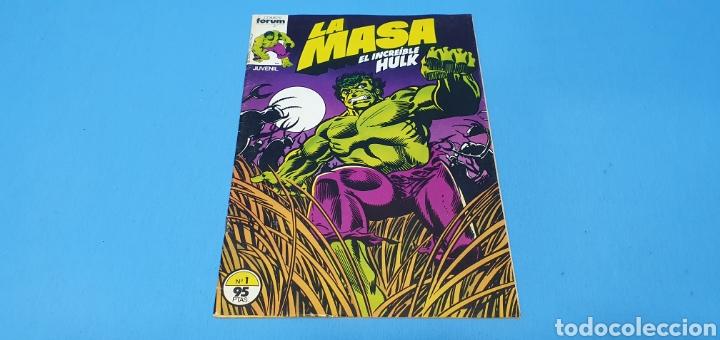 COMIC - LA MASA EL INCREIBLE HULK N° 1 - EDICIONES FORUM (Tebeos y Comics - Forum - Hulk)