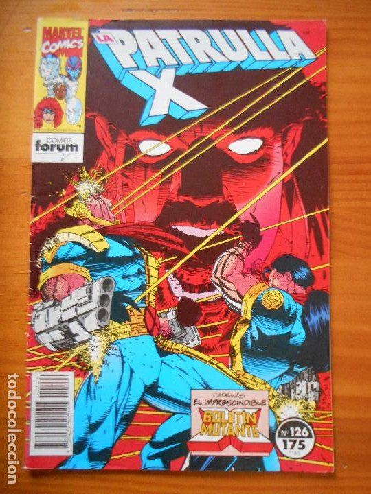 LA PATRULLA X Nº 126 - MARVEL - FORUM - LEER DESCRIPCION (7W) (Tebeos y Comics - Forum - Patrulla X)