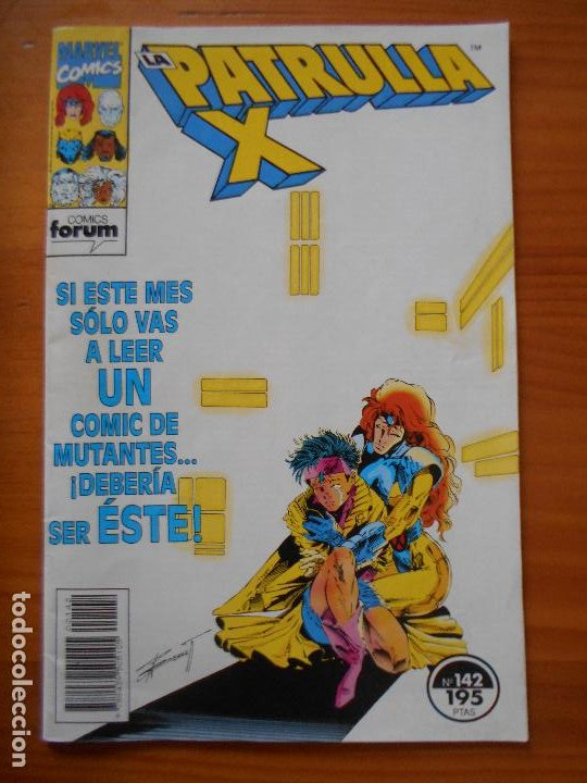 LA PATRULLA X Nº 142 - MARVEL - FORUM - LEER DESCRIPCION (7W) (Tebeos y Comics - Forum - Patrulla X)
