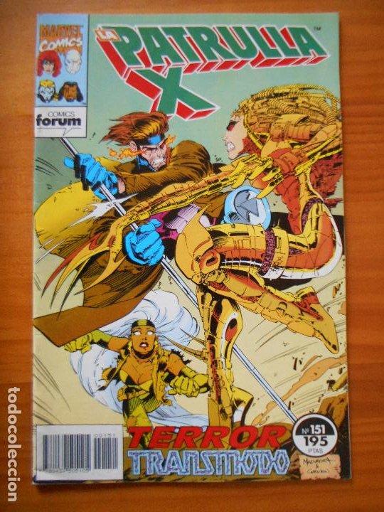 LA PATRULLA X Nº 151 - MARVEL - FORUM - LEER DESCRIPCION (7W) (Tebeos y Comics - Forum - Patrulla X)