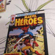 Cómics: MARVEL HÉROES, ESPECIAL VERANO, SPIDERMAN Y WOLVERINE. Lote 236616420