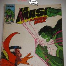 Comics : LA MASA Nº 36, FORUM SERIE DE 1983, EL INCREIBLE HULK. Lote 236633375