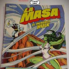 Comics : LA MASA Nº 41, FORUM SERIE DE 1983, EL INCREIBLE HULK. Lote 236633585