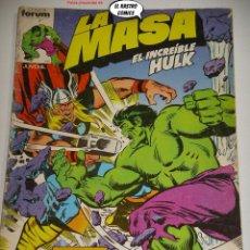 Comics : LA MASA Nº 5, FORUM SERIE DE 1983, EL INCREIBLE HULK. Lote 236633840