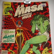 Comics : LA MASA Nº 28, FORUM SERIE DE 1983, EL INCREIBLE HULK. Lote 236634235
