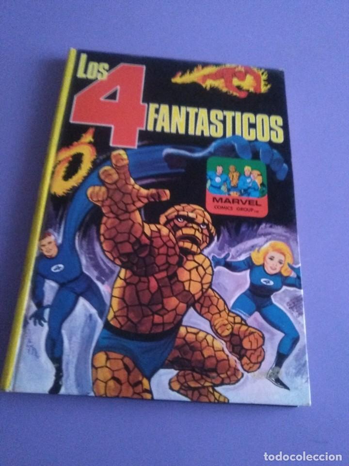 MUY RARO COMIC. LOS 4 FANTASTICOS COLECCIÓN TELEXITO EDICIONES. LAIDA FHER 1972 KIRBY LEE COLOR (Tebeos y Comics - Forum - 4 Fantásticos)