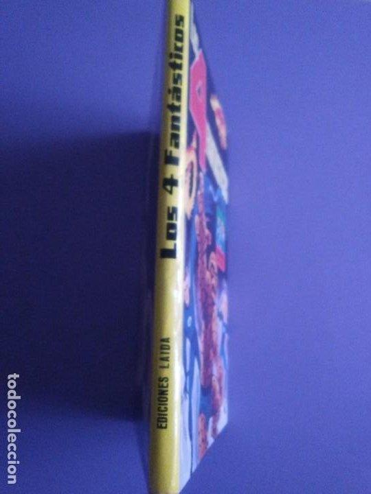 Cómics: MUY RARO COMIC. LOS 4 FANTASTICOS COLECCIÓN TELEXITO EDICIONES. LAIDA FHER 1972 KIRBY LEE COLOR - Foto 2 - 236636455