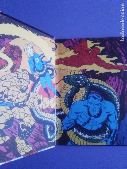 Cómics: MUY RARO COMIC. LOS 4 FANTASTICOS COLECCIÓN TELEXITO EDICIONES. LAIDA FHER 1972 KIRBY LEE COLOR - Foto 5 - 236636455