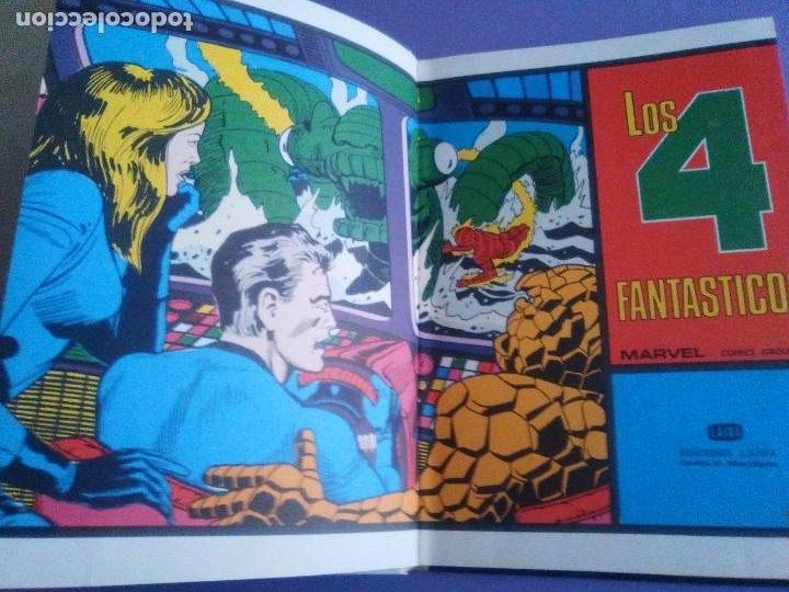Cómics: MUY RARO COMIC. LOS 4 FANTASTICOS COLECCIÓN TELEXITO EDICIONES. LAIDA FHER 1972 KIRBY LEE COLOR - Foto 6 - 236636455
