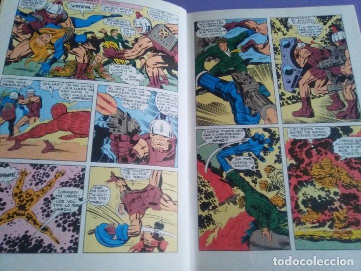 Cómics: MUY RARO COMIC. LOS 4 FANTASTICOS COLECCIÓN TELEXITO EDICIONES. LAIDA FHER 1972 KIRBY LEE COLOR - Foto 13 - 236636455