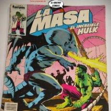 Comics : LA MASA Nº 29, FORUM SERIE DE 1983, EL INCREIBLE HULK. Lote 236637540