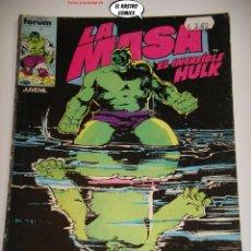 Comics : LA MASA Nº 34, FORUM SERIE DE 1983, EL INCREIBLE HULK. Lote 236639140