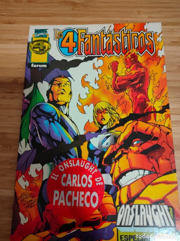 LOS 4 FANTASTICOS ESPECIAL ONSLAUGHT DE CARLOS PACHECO FORUM (Tebeos y Comics - Forum - 4 Fantásticos)