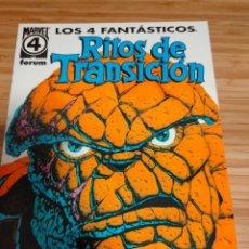 Cómics: LOS 4 FANTASTICOS RITOS DE TRANSICIÓN FORUM. Lote 236668190