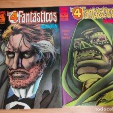 Cómics: LOS 4 FANTASTICOS REUNION COMPLETA 1 Y 2 FORUM. Lote 236668435