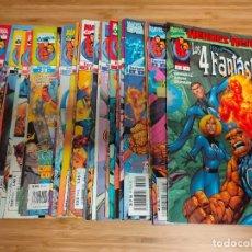 Cómics: LOS 4 FANTASTICOS VOLUMEN 3 HEROES RETURN COMPLETA DEL 1 AL 34 FORUM. Lote 236668680