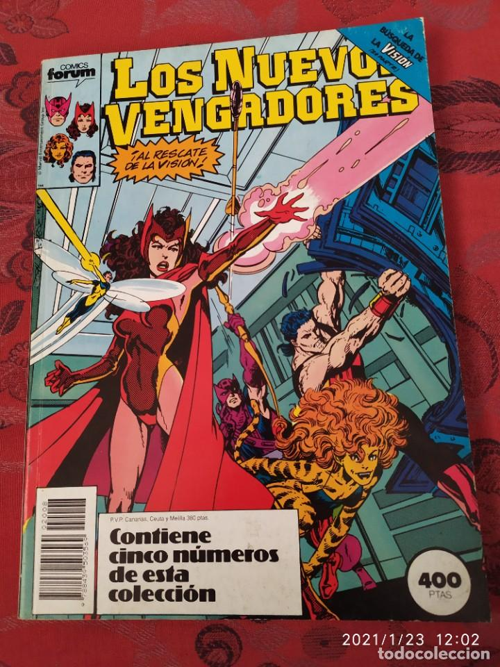 LOS NUEVOS VENGADORES TOMO RETAPADO 41 45 (Tebeos y Comics - Forum - Retapados)