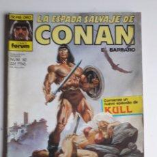 Cómics: LA ESPADA SALVAJE DE CONAN NUM 92. Lote 236760195