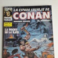 Cómics: LA ESPADA SALVAJE DE CONAN NUM 36. 2.ª EDICIÓN. Lote 236761025