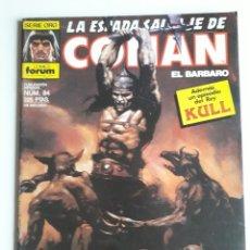 Cómics: LA ESPADA SALVAJE DE CONAN NUM 84. Lote 236761230