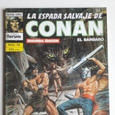 Cómics: LA ESPADA SALVAJE DE CONAN NUM 35. 2A EDICIÓN. Lote 236762410