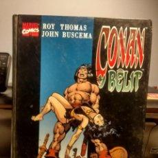 Cómics: CONAN Y BELIT : SANGRE, DOLOR Y MUERTE ( TOMO FORUM ). Lote 236770260