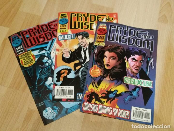 PRYDE AND WISDOM. COMPLETA EN 3 NÚMEROS. FORUM (Tebeos y Comics - Forum - Otros Forum)