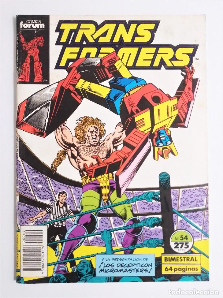 Cómics: TRANSFORMERS Nº 54 de MARVEL COMICS editado por COMICS forum - Foto 2 - 236947160