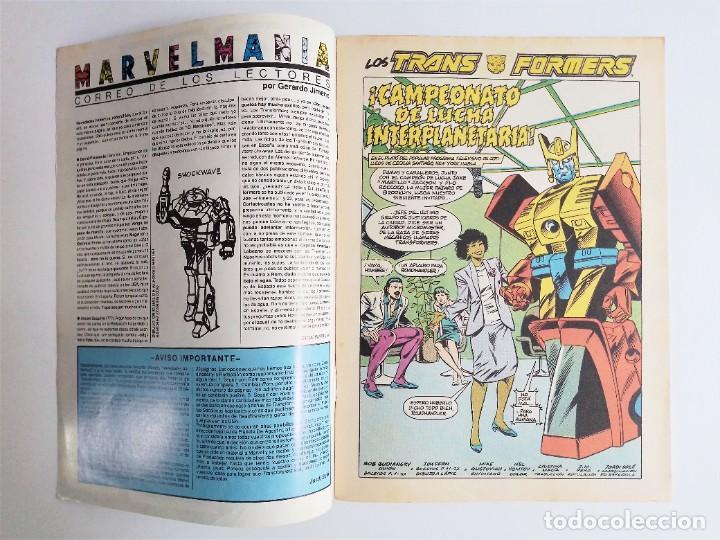 Cómics: TRANSFORMERS Nº 54 de MARVEL COMICS editado por COMICS forum - Foto 4 - 236947160
