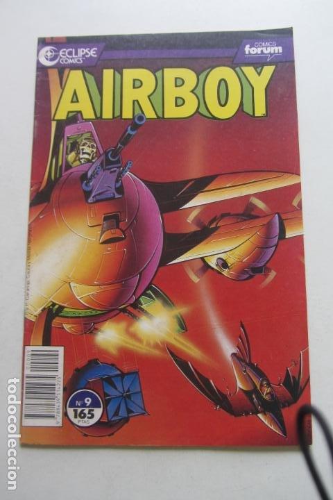 AIRBOY Nº 9 - ED. FORUM MUCHOS MAS EN VENTA ARX46 (Tebeos y Comics - Forum - Otros Forum)