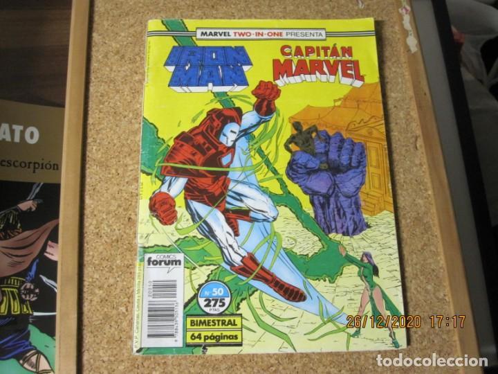 IRON MAN CAPITAN MARVEL MARVEL TWO IN ON Nº 275 FORUM (Tebeos y Comics - Forum - Otros Forum)