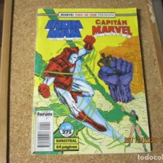Cómics: IRON MAN CAPITAN MARVEL MARVEL TWO IN ON Nº 275 FORUM. Lote 236979255